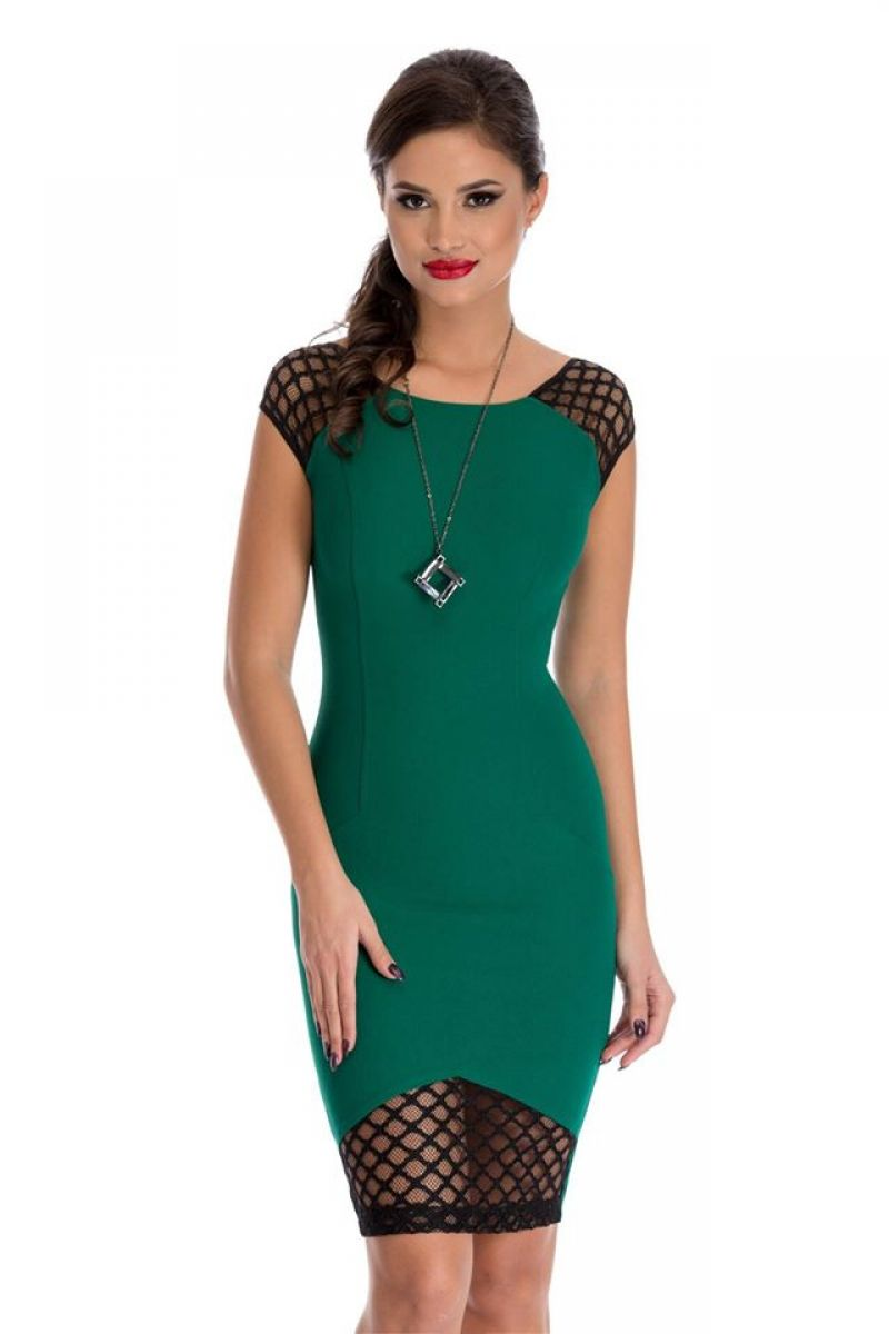 Rochie Felly verde by Zonia