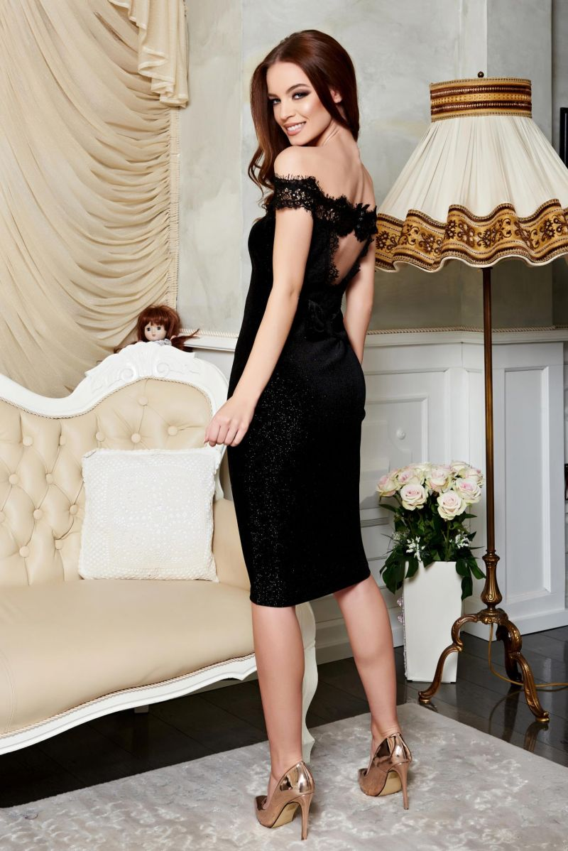 Rochie Fofy Exclusivity Black de la Starshiners