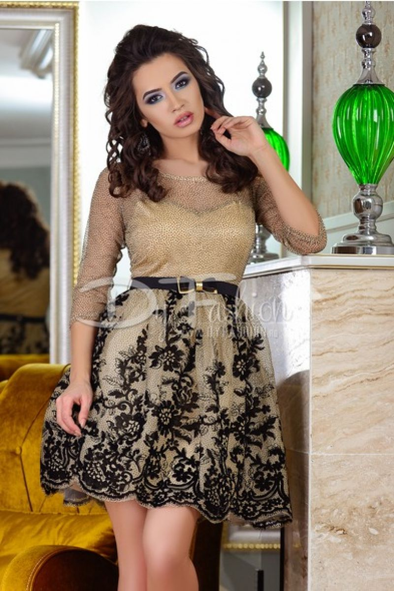 Rochie Black Party Look