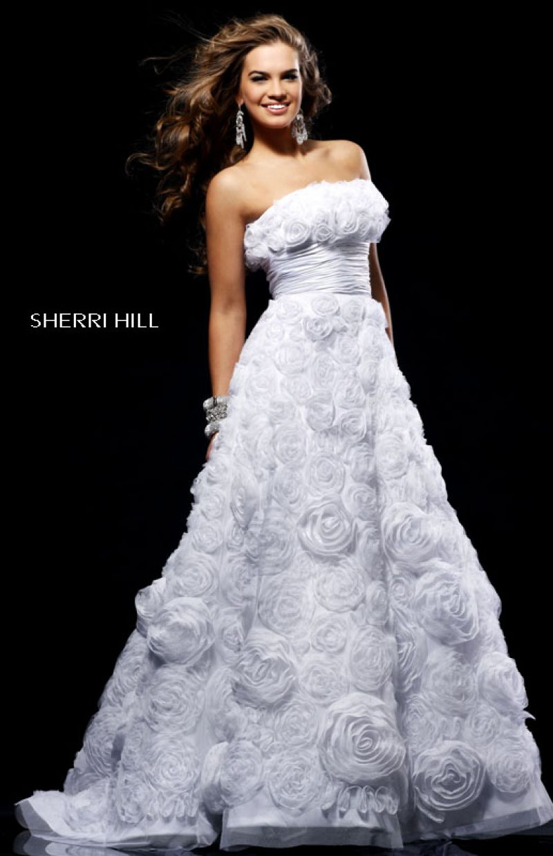 Sherri Hill 2223 by Ivory