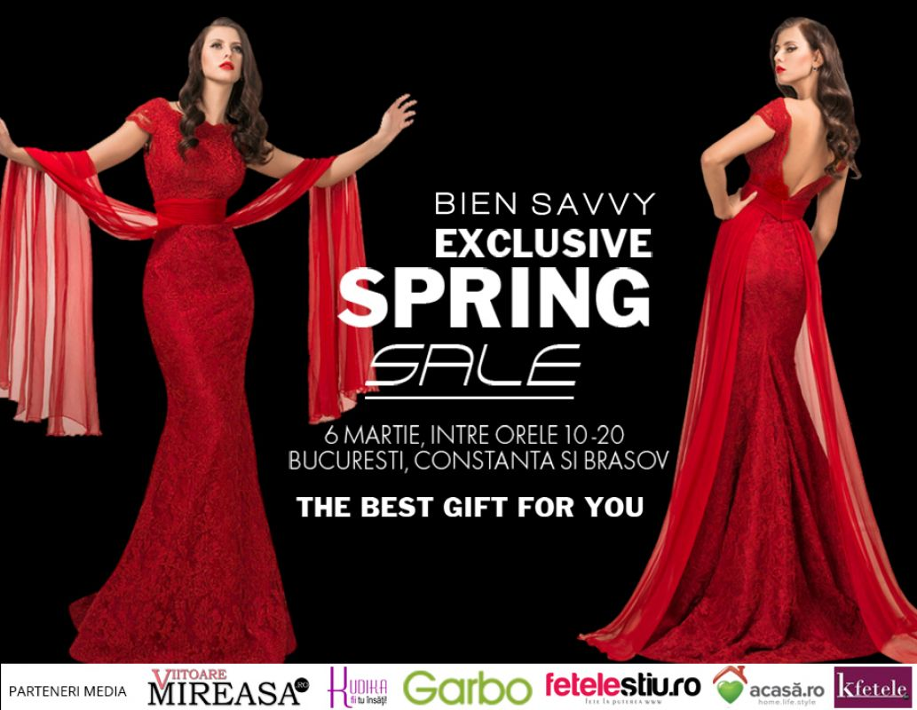 Exclusive Spring Sale la BIEN SAVVY