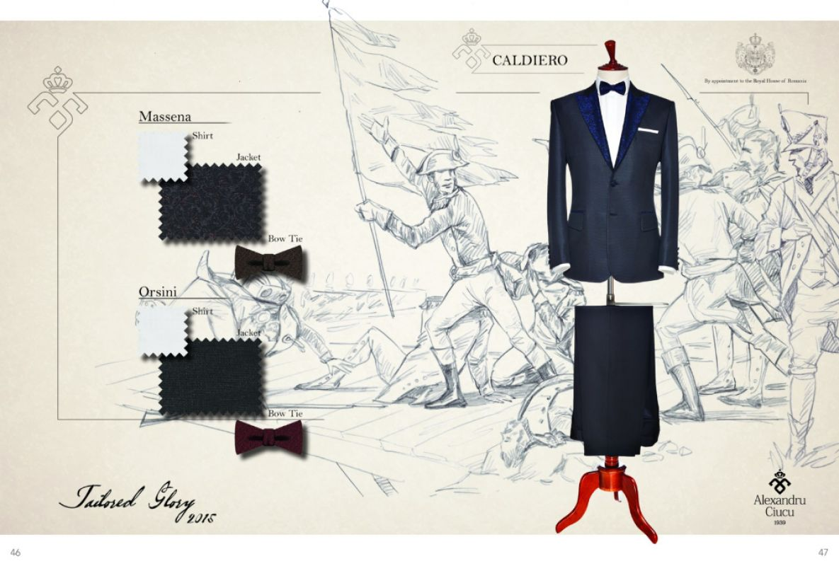 Colectia Tailored Glory 2015: Costume de ceremonie de Alexandru Ciucu