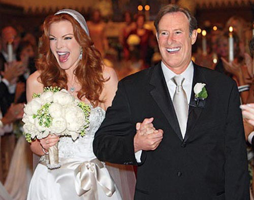Nunta Marcia Cross si Tom Mahoney