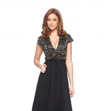 Rochie Ana Radu Prestigious Moments Black