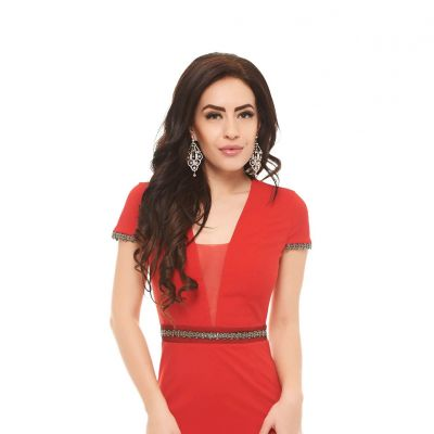 Rochie PrettyGirl True Love Red