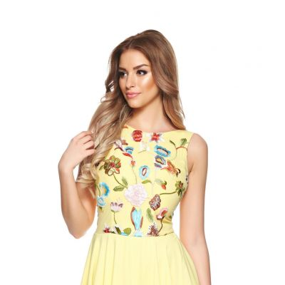Rochie LaDonna Spring Fashion Yellow