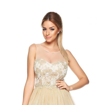 Rochie LaDonna Fashion Flame Gold