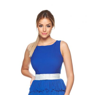 Rochie PrettyGirl Cocktail Party Blue
