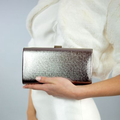 Clutch de ocazie champagne by SelfEvents
