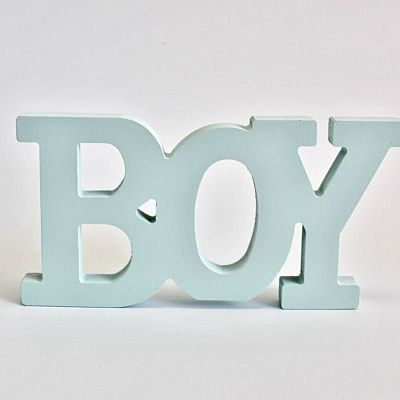 Decor botez Boy bleu