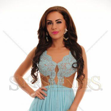 Rochie Ana Radu Royal Choice Blue