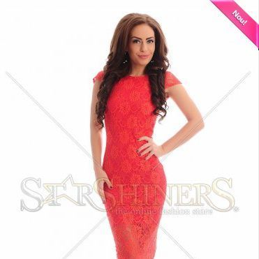 Rochie PrettyGirl Charming Style Red