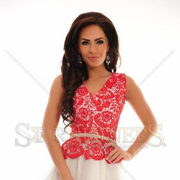 Rochie LaDonna Special Contrast Red