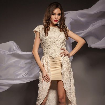Rochie Altheea Ivory