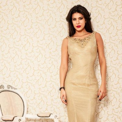 Rochie Shining Aurie