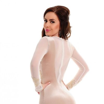 Rochie LaDonna Magnetic Effect Cream