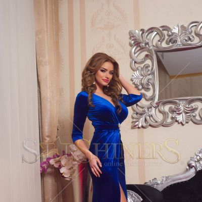 Rochie LaDonna Wild Seduction Blue