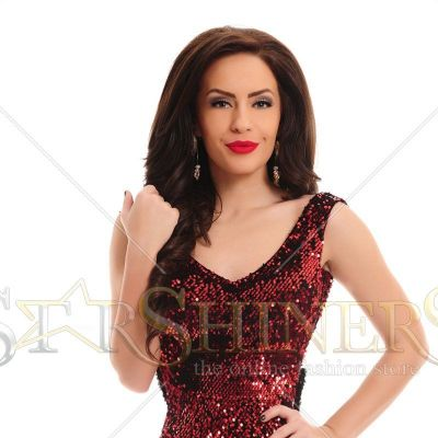 Rochie LaDonna Highest Emotion Red