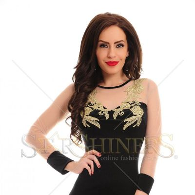 Rochie LaDonna Magic Motion Black