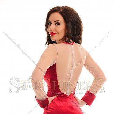 Rochie LaDonna Magic Motion Red