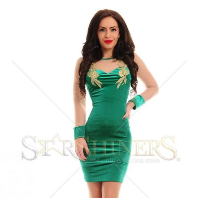 Rochie LaDonna Magic Motion Green