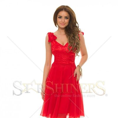 Rochie LaDonna Wisely Shape Red