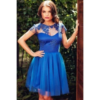 Rochie D'Amour Albastra