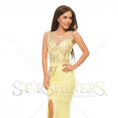 Rochie LaDonna Truly Gentle Yellow