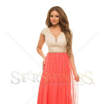 Rochie LaDonna Admirable Treat Coral