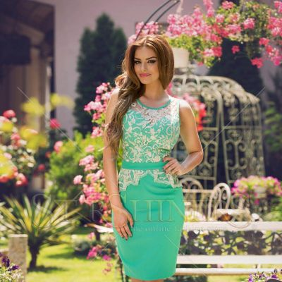 Rochie LaDonna Strong Date Green