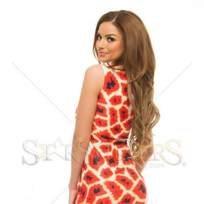 Rochie Ana Radu Cheerful Notes Red