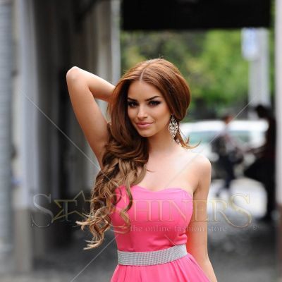 Rochie PrettyGirl Differently Pink
