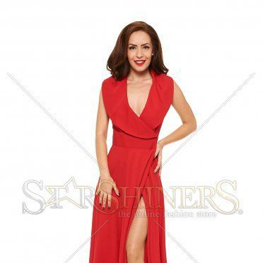 Rochie Ana Radu Anonymous Red