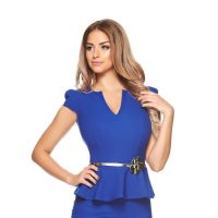 Rochia zilei: Rochie Fofy Highest Passion Blue