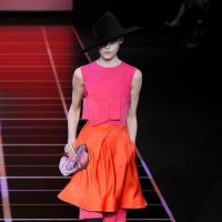 Giorgio Armani Milan Fashion Week