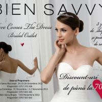 Bien Savvy te invita la BRIDAL OUTLET