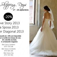 Te invitam la Savvy Shopping Days, 27-28 septembrie!
