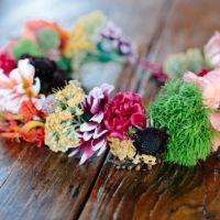 DIY: Coronite handmade din flori naturale