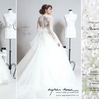 Rochii de mireasa Agnes Toma - Preview Bridal Collection 2016 - in showroom-urile AT!