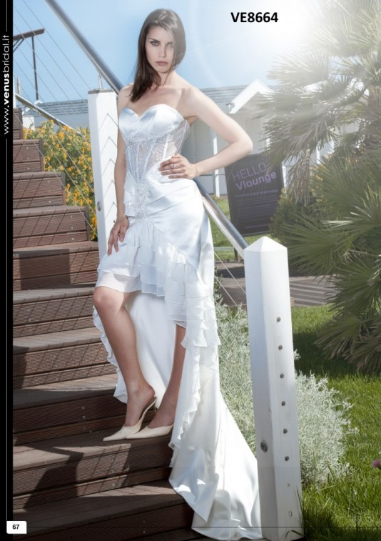 Rochie de mireasa model VE8664, oferit de Exclusive Bride Salon, www.exclusivebride.ro
